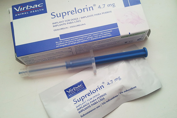 Супрелорин для химической стерилизации