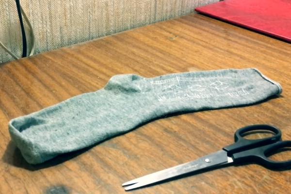 Носок для изготовления попона
