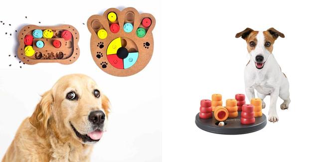 Интеллектуальные игрушки для собак
